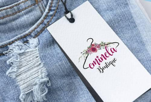 eminela butik logo tasarımı