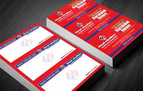 final okulları sınav giriş belgesi final sınav broşür giriş belgesi