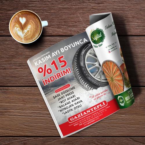 Gaziantepli Lastik Dergi Reklamı