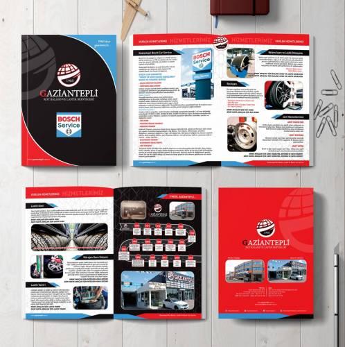 Gaziantepli lastik katalog tasarımı, katalog baskı, katalogtasarımı,cepli dosya baskı